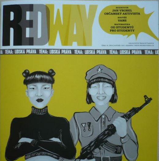 RedWay obálka