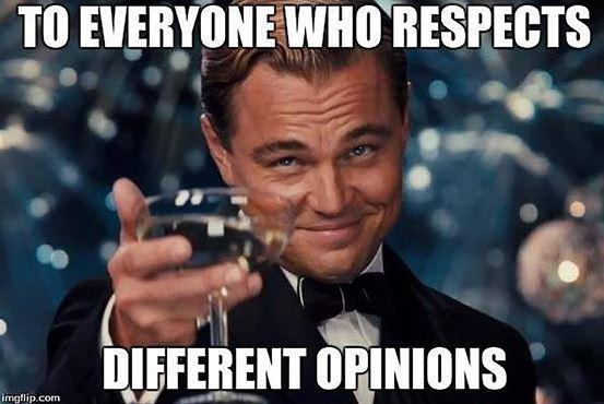 Všem, kteří respektují jiné názory. To je obrázek z kampaně proti nenávisti vůči voličům leave