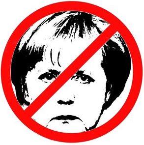 V Berlíně demonstrovaly 4000 lidí proti Angele Merkelové.