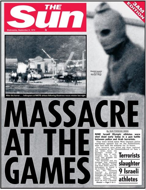 The Sun olympiáda 1972