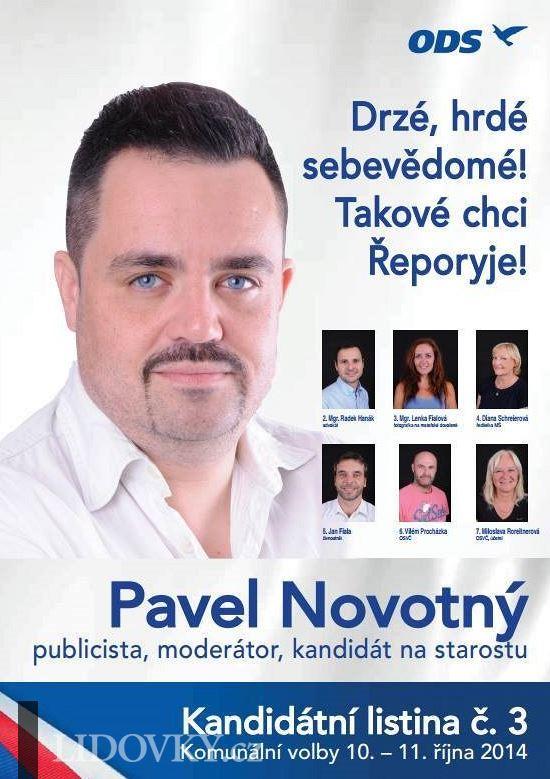 """""""Zeman je sprostá jitrnice."""" Pavel Novotný je v Praze zastupitelem za ODS"""