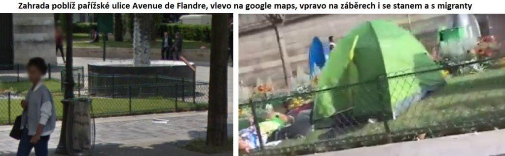 Zahrádka u Avenue de Flandre