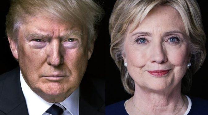 Trump vs Clintonová: Průzkumy jsou hodné ignorace, souboj je vyrovnaný