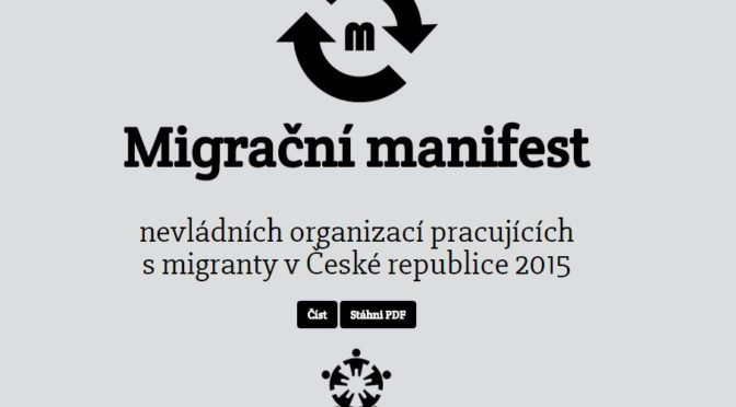 Politické neziskovky sepsaly manifest, ve kterém přikazují politikům a médiím, co dělat