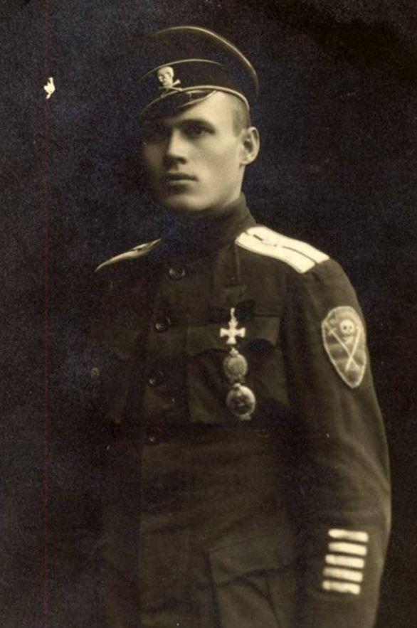 Československý legionář v Rusku za 2. sv. války