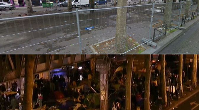 Migranti udělali z centra Paříže válečnou zónu. Bojují s policií i místními