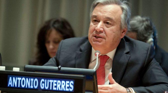 Generální tajemník OSN: Islamofobie podporuje terorismus