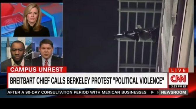 Hill ze CNN hledá omluvy pro nepokoje v Berkeley: Pravičáci útočí také, tvrdí bez důkazů