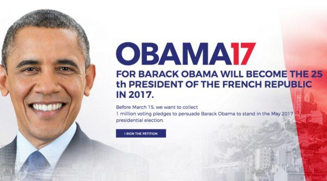 MANIPULACE info.cz: Skutečně chtějí Francouzi za prezidenta Obamu?