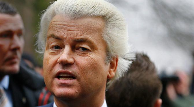 Geert Wilders je v ohrožení muslimskými extremisty. Musel přerušit předvolební kampaň.
