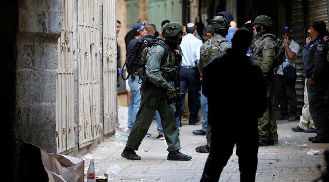 Palestinec pobodal Židy, zastřelili ho