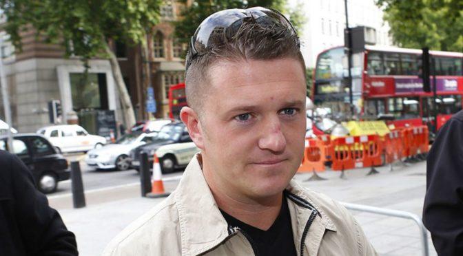 Zavražděte někdo Tommyho Robinsona, vyzýval mladík na Twitteru. Kritik islámu s ním konfrontoval