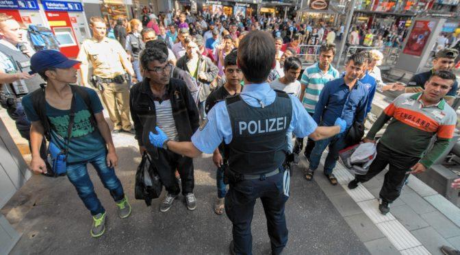 Migrantů na dávkách v Německu rapidně přibývá