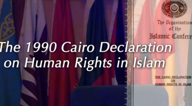 """Organizace islámské spolupráce. Co je zač """"Káhirská deklarace lidských práv""""?"""