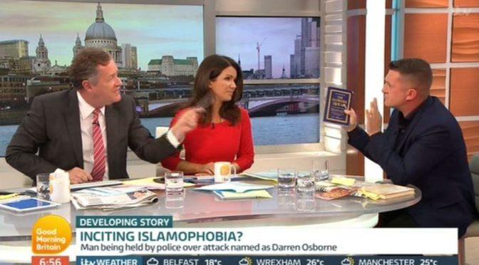 Tommy Robinson zničil debatu v Good Morning Britain. Chtěli z něj udělat agresora