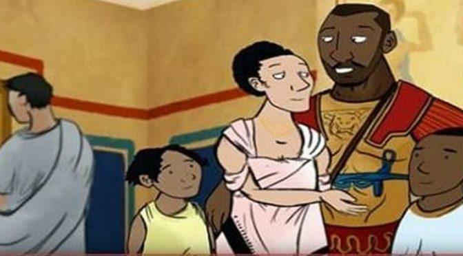 Staří Římané byli černoši, tvrdí dětem BBC. Obhajuje se lživými argumenty