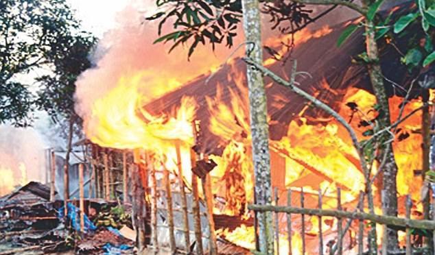 Dav 20 000 muslimů v Bangladéši zlikvidoval celou hinduistickou vesnici