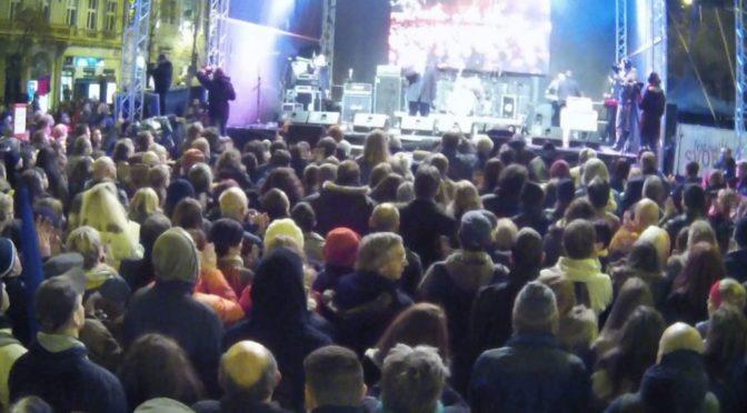 Oslavy 17. listopadu ovládly multikulturní neziskovky