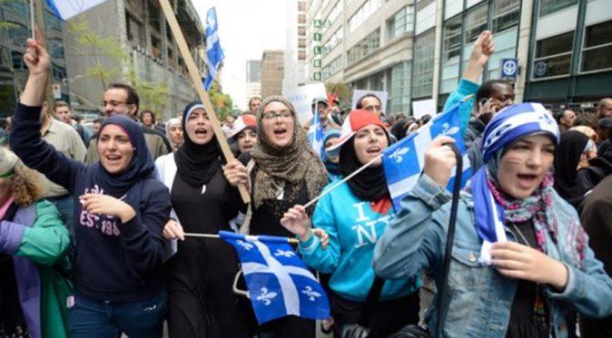 V Québecké knihovně poučovali muslimové Kanaďany, jak se mají přizpůsobovat islámu