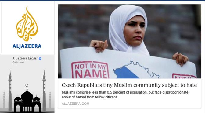 YouTube: Češi nenávidí muslimy? Pod článkem na Al-Jazeera naleznete opak