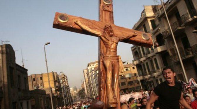 NAHRÁVKA: Český rozhlas v roce 2011 informoval o šílené likvidaci křesťaství v muslimských zemích