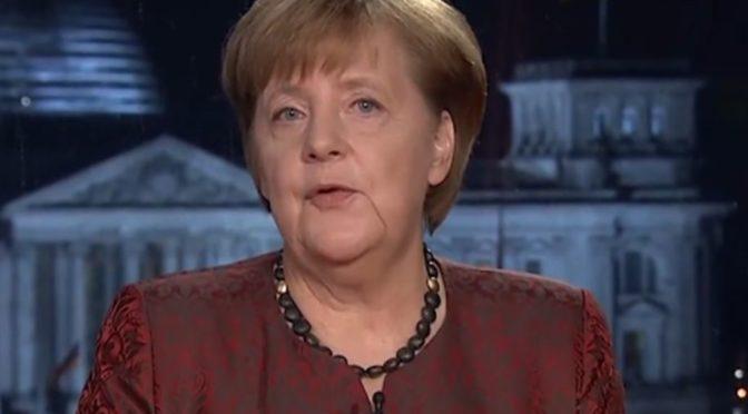 Merkelová v projevu naznačila touhu po vzniku evropského superstátu