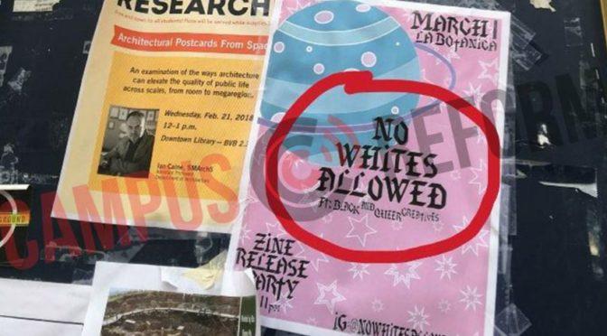 """""""Ne pro bělochy."""" Studenti texaské univerzity chtějí vydávat rasistický časopis"""