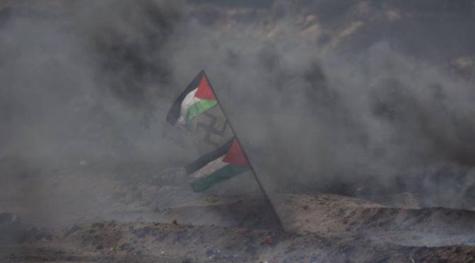 Otrávíme Izraelcům vzduch! Palestinci pálí na hranici tisíce pneumatik