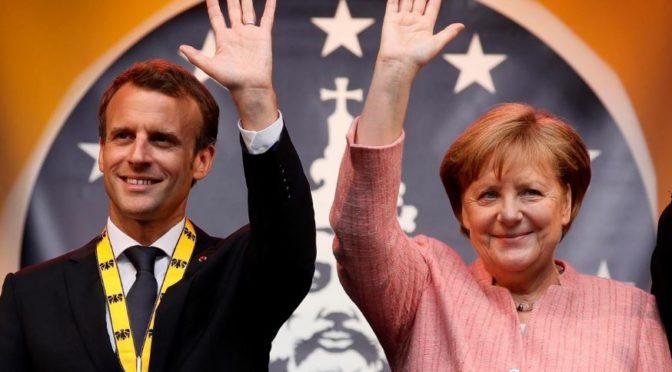 Německo – fracouzský superstát. Macron a Merkelová podepíší smlouvu, o které se nepíše