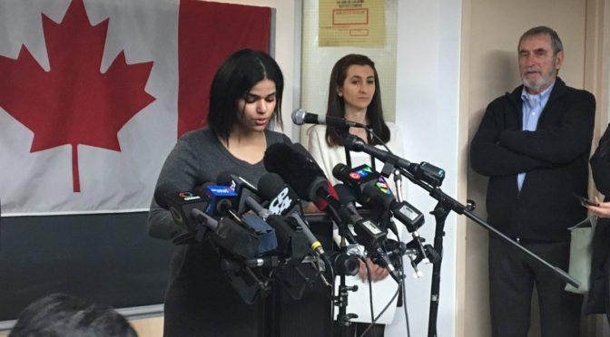 Saúdská odpadlice od islámu čelí v Kanadě výhrůžkám smrtí od tamních muslimů