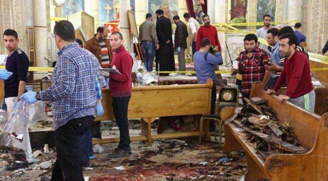 VIDEO: Bombový útok v Káhiře. V kostele zahynulo přes 40 lidí